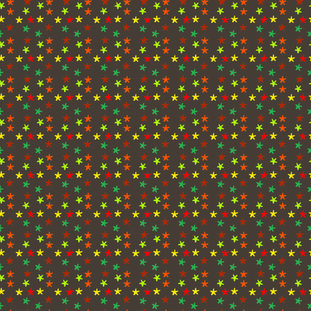 seamless colourful star pattern background
