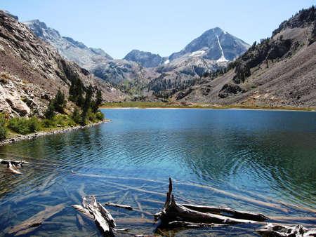 high sierra: Lake Mildred Eastern High Sierra 9500ft ele