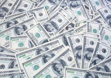 dolar: un lote de documentos de dolar