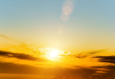 sol: a very beautiful sunny sky background