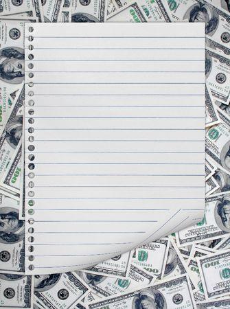 signo de pesos: un mont�n de papeles dolar