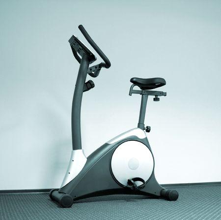 Stationary bicycle and Gym machine Stock Photo - 6326787