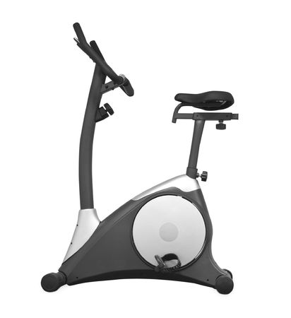 Stationary bicycle and Gym machine Stock Photo - 6516762