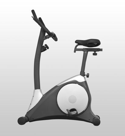 Stationary bicycle and Gym machine Stock Photo - 6856382