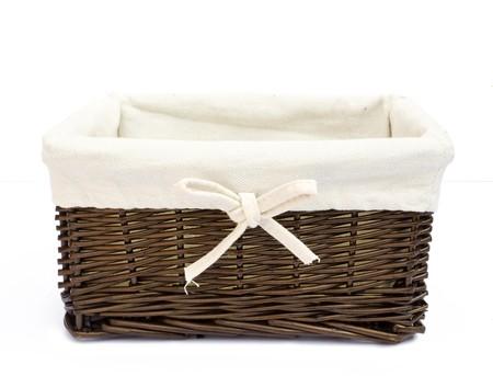 cepelia:  empty basket on a white background