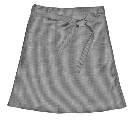 faldas: vestido. falda corta aislado en blanco