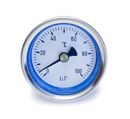 pressure gauge: measurement pressure on the white backgrounds
