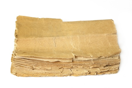 old book on white backgrounds Stock Photo - 9458270