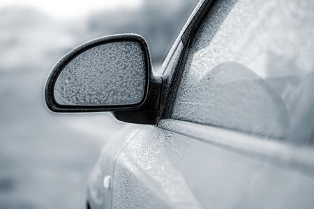 frostily: car in snow