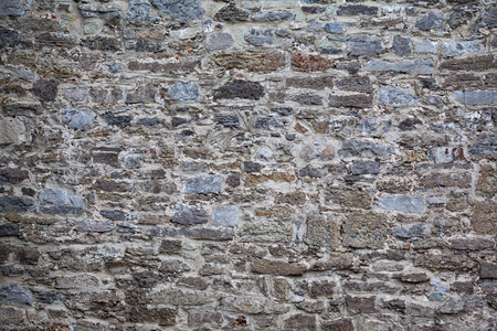broken wall: retro roto pared al terremoto Foto de archivo