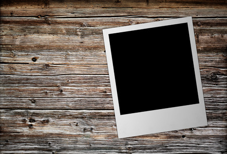 polariod frame: photo  frame isolated on the white backgrounds