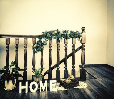 christmas interior home