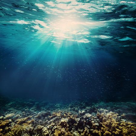 background sand on the beach underwater Stock fotó