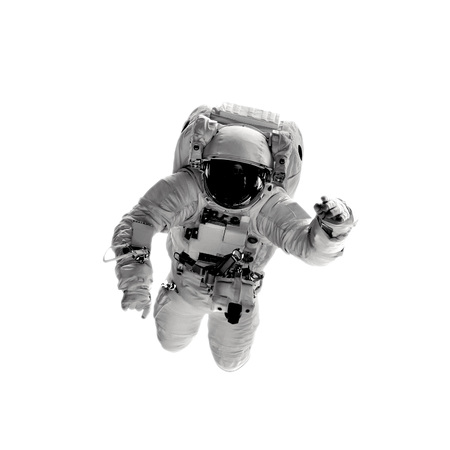 astronaut on the white backgrounds. 写真素材