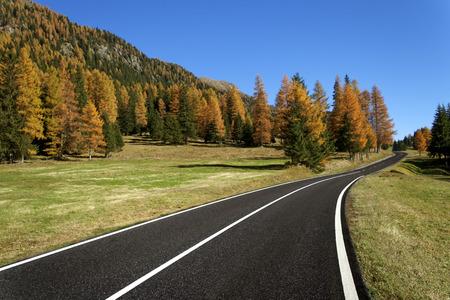 Travel in autumn Stock Photo