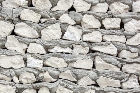 texture of masonry cement-gray cobblestones