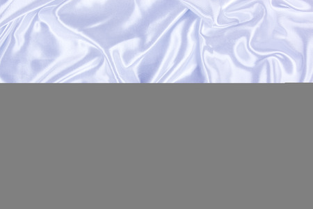 White silk background close up