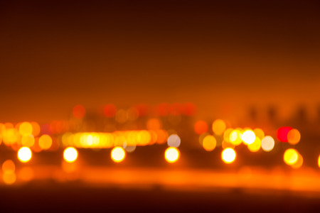 blurred background photo of a night city