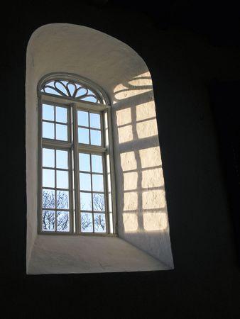 church window: Brodebro Church Window