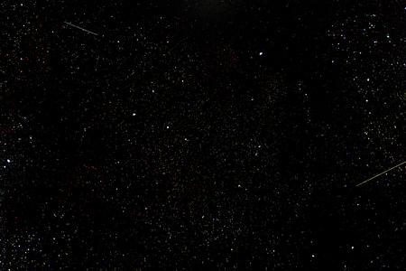 meteors: Milky way stars at night.Night sky and meteors.