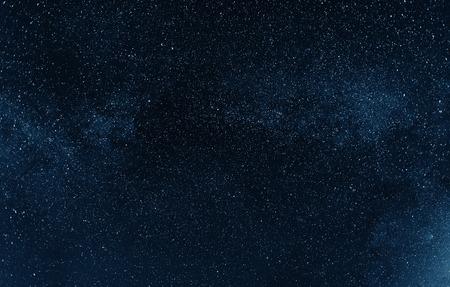 Night sky with stars. Photo in great endurance Reklamní fotografie