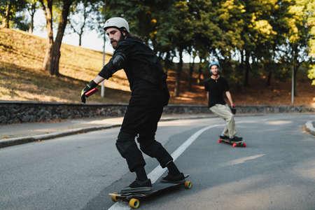 Skateboarding in the eternal city.