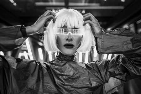 Futuristic style. Cyberpunk 2020