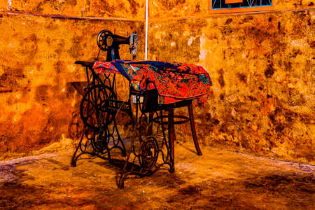 Vintage room at its best in a Cafe in Georgetown, Penang, Malaysia on February 2, 2020