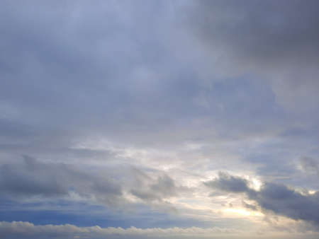 Background from a overcast cloudscape in full frame. Standard-Bild