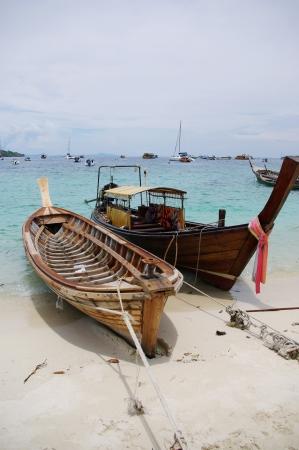 Boats at PP island Krabi,Thailand