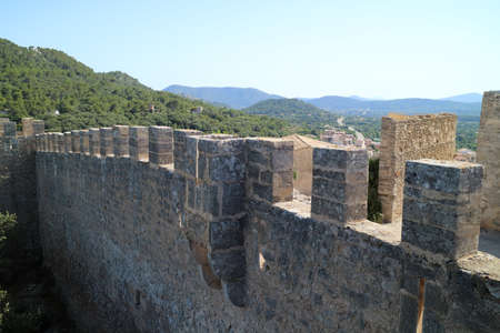 jehovah: Castle Wall, Castle Capdepera, Mallorca, Spain