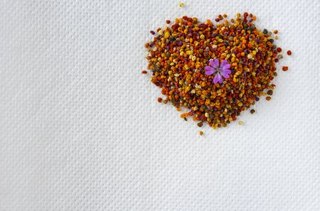 Natural, ecological bee pollen
