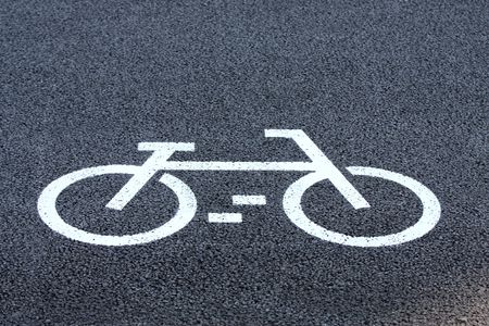 Bicycle road sign Stock Photo - 5372835