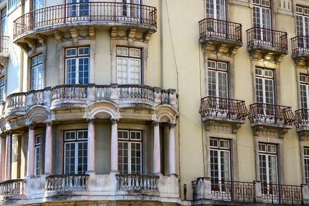 Front aspect of Lisbon town house photo