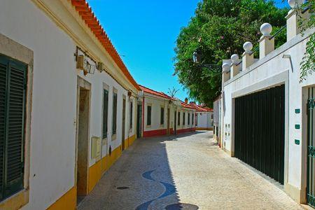 A narrow street in Lisbon, Portugal Stock Photo - 5690649