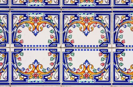 Traditional ancient ceramics. Lisbon, Portugal