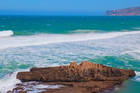 region of algarve: Atlantic coast in Portugal