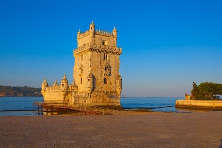 Tower of Belem, Lisbon, Portugal Editorial