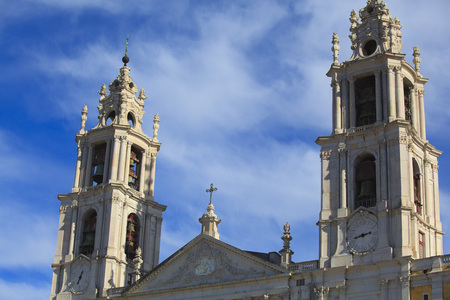 Mafra National cathedral and convent, in Portugal