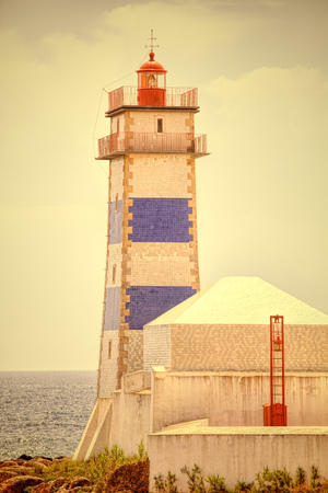 marta: Santa Marta Lighthouse in Cascais, Portugal.
