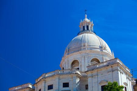National Pantheon - Church of Santa Engracia in  Lisbon, Portugal Stock Photo