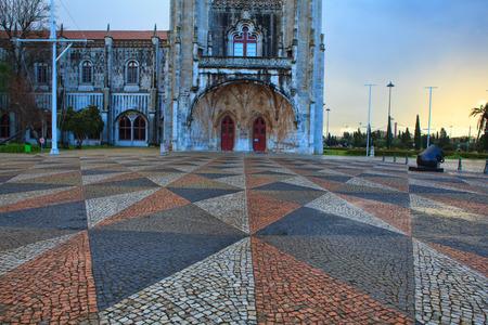 Jeronimo monastery in lisbon, portugal .
