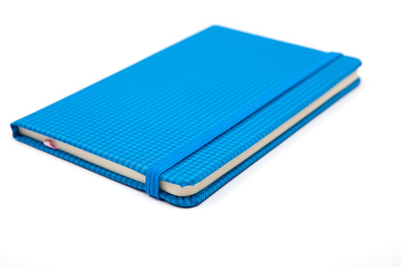 notebook isolated on white background Stock Photo