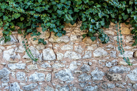 Part of the stone wall. Background. texture.