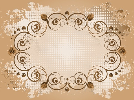 Floral background Stock Vector - 10045731