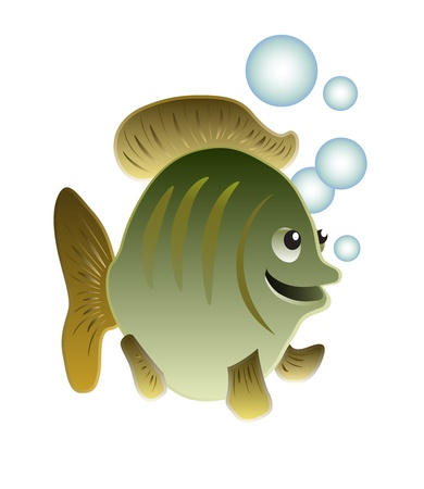 Funny fish Stock Vector - 10827058