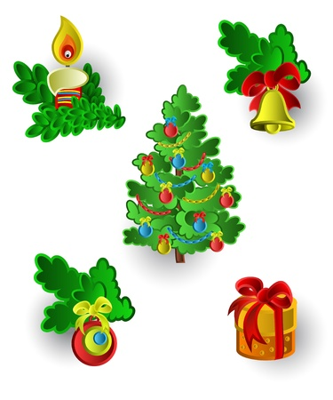 Christmas set Stock Vector - 11009935
