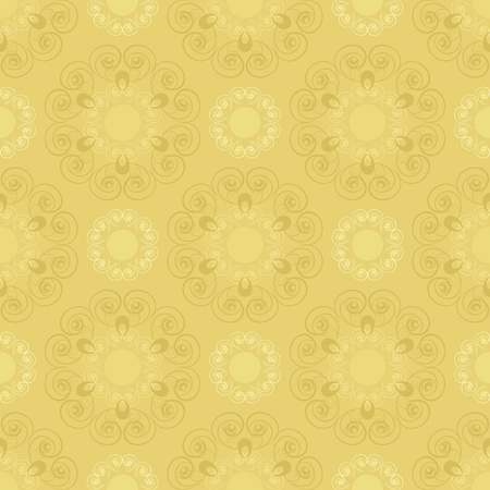 Gothic style: Seamless pattern in beuge  tones Illustration