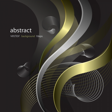 Abstract background with lines pattern Stock Vector - 13913224