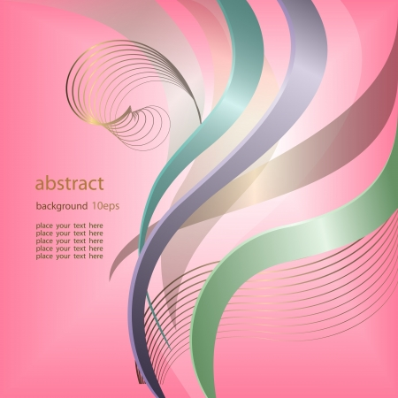 Abstract background with lines pattern Stock Vector - 13994807